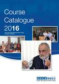 Course Catalogue 2016